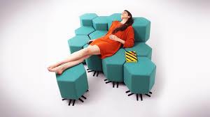 future furniture. The Future Of Your Living Room: Shape-Shifting Furniture
