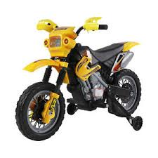 homcom kids ride on scrambler motorbike electric motocross 6v