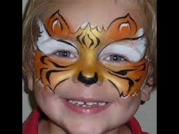 fast faces tiger mask face painting