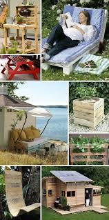 pallets diy of wood furniture 30 plans and projects