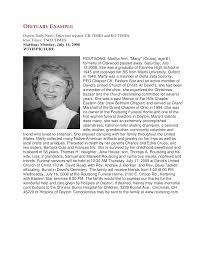 Newspaper Obituary Template Free Newspaper Obituary Sample Templates At Allbusinesstemplates Com