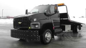 All Chevy chevy c6500 flatbed : 2003 Chevy C6500 Roll Back - YouTube