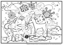 Small Picture Winter Coloring Az Coloring Pages inside Winter Wonderland