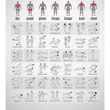 Free Hand Workout Chart Damon Harrington Damon0598 On Pinterest