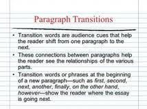 transition in essay writing good student essay higher history transition in essay writing
