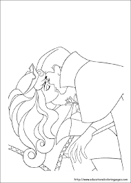 Small Picture Sleeping Beauty Coloring Pages free For Kids