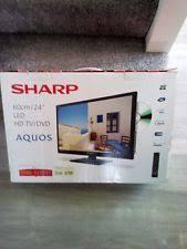 sharp 24 inch lc 24dhf4011k hd ready dvd combi led tv with freeview hd. sharp 24\ sharp 24 inch lc 24dhf4011k hd ready dvd combi led tv with freeview h