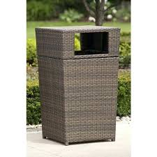 decorative trash cans brilliant patio trash can residence remodel inspiration attractive with regard to designs 4 decorative garbage cans for kitchen