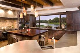 over island lighting. view in gallery eclectic modern kitchen with beautiful use of pendant lighting above the island over
