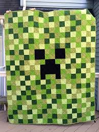 Finished Project: Minecraft Creeper Quilt | Clever Little Mouse &  Adamdwight.com