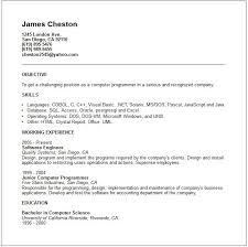 Resume Programming Skills Examples Resume Ixiplay Free Resume