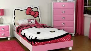pink girls bedroom furniture 2016. Twin Size Bedroom Furniture Sets : Cute Girls Design With Hello Kitty Theme Using White Pink 2016