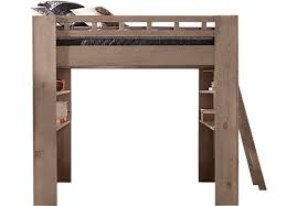loft bed with shelves. Unique Loft To Loft Bed With Shelves L