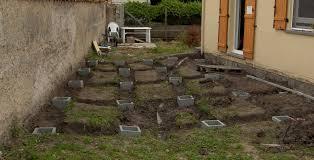 Faire Des Plots Beton Pour Terrasse Bois : Plot Beton Pour Terrasse  Plaisant Plot Beton Terrasse