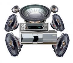 sound system car. sound system car d