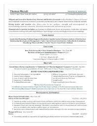 Sample Resume For Internship Sample Of Internship Resume Internship