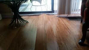 excessive moisture also creates buckling in solid wood floors engineered wood and laminate regarding the nature of the damage buckling is the opposite