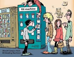 Vending Machine Debate Cool Should School Campuses Have RX Vending Machines