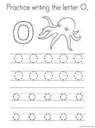 Download or print for free. Letter O Coloring Pages Alphabet Educational Letter O Of 8 Printable 2020 182 Coloring4free Coloring4free Com
