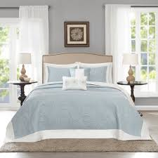 image is loading 120 x 118 oversized light blue king bedspread