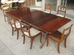 duncan phyfe dining room chairs. Duncan Phyfe Dining Table Magnificent Sold Set 175 Room Chairs E
