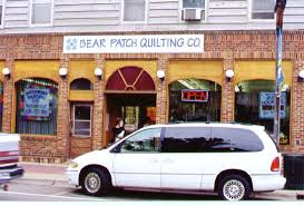Planet Patchwork -- Quilt Stores in Minnesota & Bear Patch Quilting Company. 2199 4th St. White Bear Lake, MN Adamdwight.com