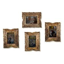 multi picture wooden carved flower photo frame home and wall decorations set designer picture