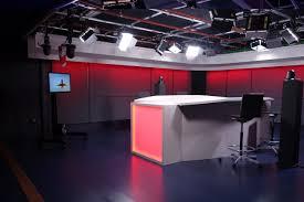 Tv Studio Lighting Design Videlio Media Realizes The Integration Of A Television