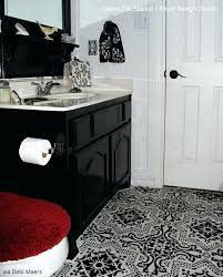 black and white linoleum tile yes you can paint vinyl linoleum floors with stencils check out black and white linoleum