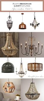 bohemian lighting. Bohemian Light Fixtures Lighting Designs