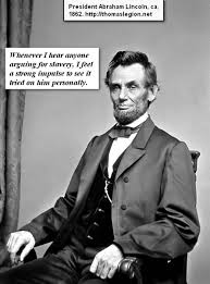 Abraham Lincoln Quotes On Slavery Classy Abraham Lincoln Civil Rights States President Lincoln Quotes