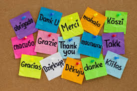 easy ways to show people respect and gratitude the material  saying thank you in different languages