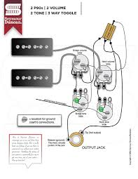 wiring diagrams seymour duncan part 10 2 p90 2 volume 2 tone 3 way toggle