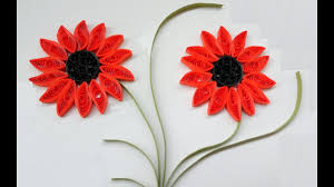 Paper Flower Designs Paper Quilling Flowers How To Make Beautiful Quilling Orange Flower Design Paper Quilling Art
