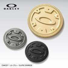 ball markers. 【oakley japan】ellipse golf ball marker, casino coin type (99402jp) markers f
