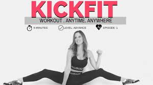 kickfit 5 minute full body workout no props home workout