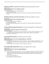 Stagehand Resume Samples Best Of Stagehand Resume Examples Stagehand Resume Examples Resume Templates