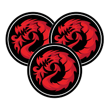 Dragon Logo (3) Pack Sticker Pack – Fireball Supply