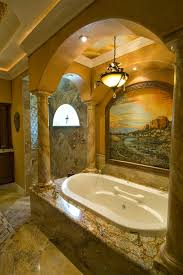 tuscan style bathroom ideas small
