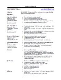 Openoffice Cv Template - Fast.lunchrock.co