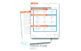 Wholesale Order Form Template Printable Photography School Picture ...