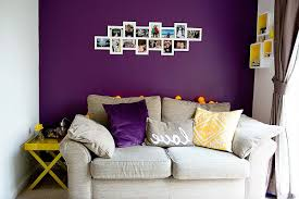 Purple Living Room Dark Purple Living Room White Wall Paint Color White Rectangle
