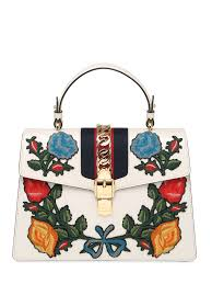 gucci bags 2017. gucci medium sylvie floral leather bag white odqwng2 women bags,gucci bags 2017,gucci sneakers cheap,best value gucci 2017 i