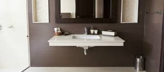 to conceal a waste pipe under a vanity