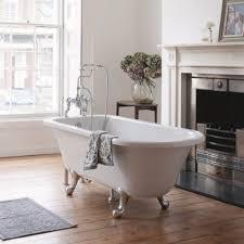burlington blenheim roll top bath with luxury feet