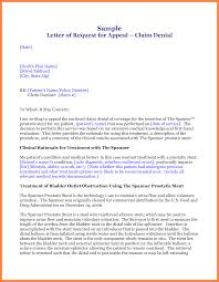Medical Appeal Letters Dismissal Appeal Letter Appeal May Be