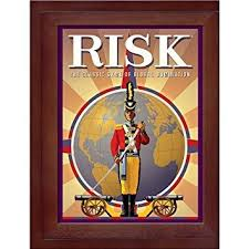 Vintage Wooden Board Games Amazon Hasbro Risk in Vintage Wood Book Edition Toys Games 66