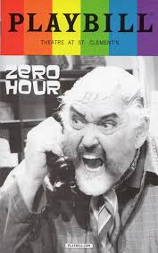 THEATRE S LEITER SIDE June 2017 For my review of Zero Hour please click on THEATER PIZZAZZ.
