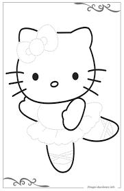 Hello Kitty Disegni Per Bambini Piccoli Da Stampare E Colorare