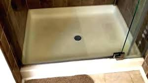shower base installation swanstone drain reviews bathroom for